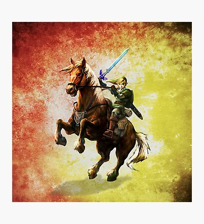 Legend Of Zelda Advanture Link Photographic Print