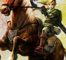 Legend Of Zelda Advanture Link Sticker