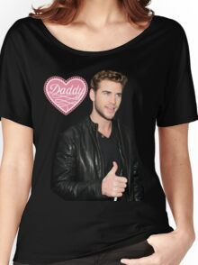 Liam Hemsworth - Daddy Women's Relaxed Fit T-Shirt