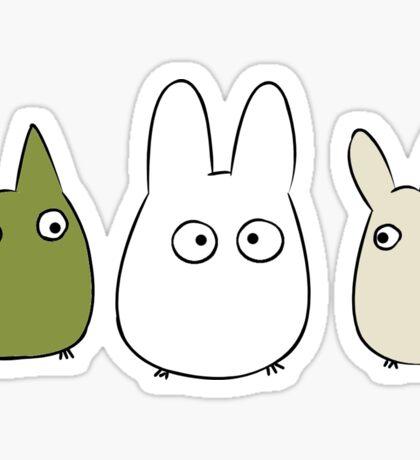Chibi Totoro Sticker