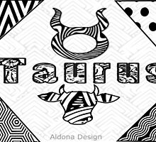 Taurus Doodle Art  (1226 Views) by aldona
