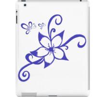 Purple Hawaiian Flower iPad Case/Skin