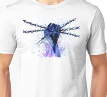Hand with Barbed Wire Unisex T-Shirt