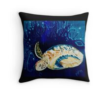 arthurs turtle, light Throw Pillow