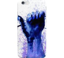 Hand with Barbed Wire 2 iPhone Case/Skin