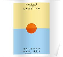 Childish Gambino KAUAI Poster