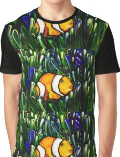 clownfish tiles Graphic T-Shirt