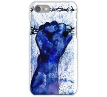 Hand with Barbed Wire 3 iPhone Case/Skin