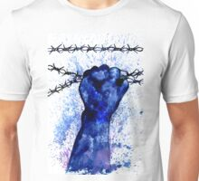 Hand with Barbed Wire 3 Unisex T-Shirt