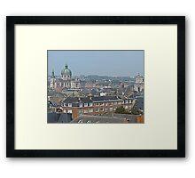 Overlooking Namur, Belgium Framed Print