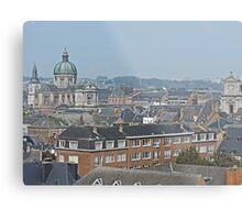 Overlooking Namur, Belgium Metal Print