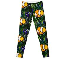 clownfish tiles Leggings