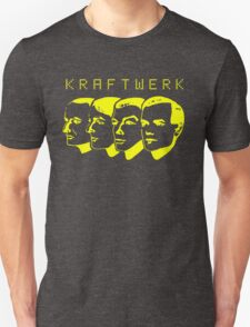 Kraftwerk Four Heads T-shirt for Men or Women
