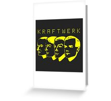 Kraftwerk Shirt Greeting Card