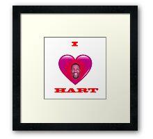 Luv Hart Framed Print