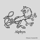 A is for Alphyn by Donna Huntriss