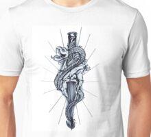Snake, Dagger, Heart Unisex T-Shirt