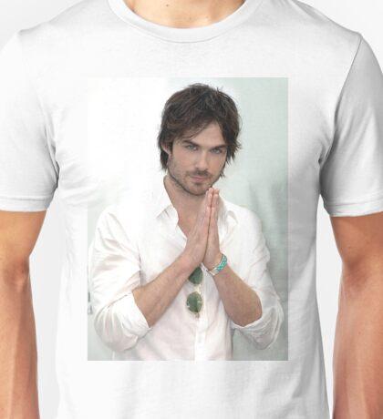 Damon Salvatore Ian Somerhalder Vampire Diaries Unisex T-Shirt