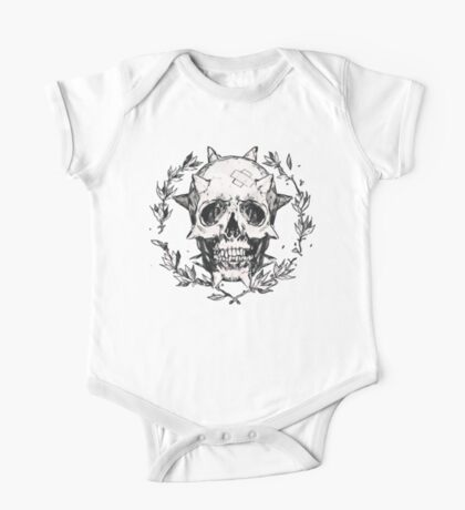 Chloe skull One Piece - Short Sleeve