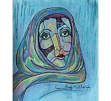 LILIOS WITH SCARF Photographic Print