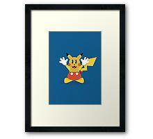 Pika Mouse Framed Print