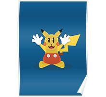 Pika Mouse Poster