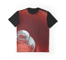Reflecting on Red Graphic T-Shirt
