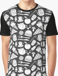 foodie (b&w) 2 Graphic T-Shirt