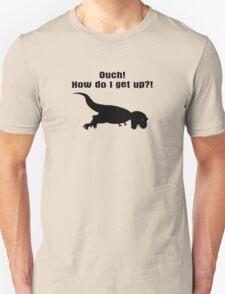 Tyrannosaurus Rex T-shirt - Dinosaur Sticker  Unisex T-Shirt