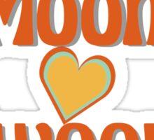 Moon Swoon Sticker