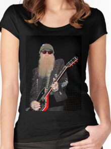 Billy Gibbons Women's Fitted Scoop T-Shirt