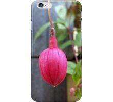 red tassel iPhone Case/Skin