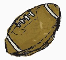 Ezra's Football One Piece - Short Sleeve