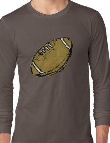 Sketchy Football Long Sleeve T-Shirt
