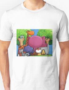 Splatter Zoo Unisex T-Shirt