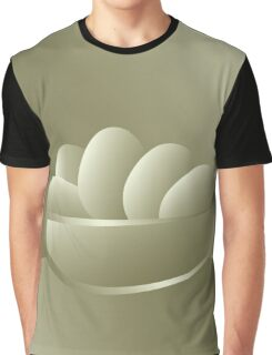 Golden Easter eggs Graphic T-Shirt