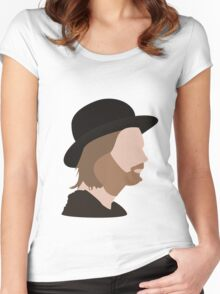 thm.  Women's Fitted Scoop T-Shirt