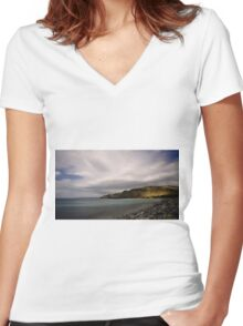 Rapid Bay, South Australia Women's Fitted V-Neck T-Shirt