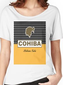 Cohiba Habana Cuba Cigar Women's Relaxed Fit T-Shirt