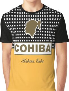 Cohiba Habana Cuba Cigar Graphic T-Shirt