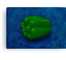 Green Pepper Canvas Print