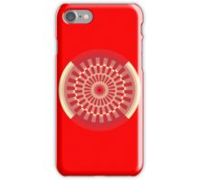 gyre - red apple iPhone Case/Skin