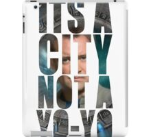 Its a City not a YOYO! Atlantis Stargate iPad Case/Skin