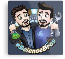 #sciencebros Metal Print