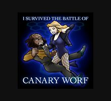 The Battle of Canary Worf Unisex T-Shirt