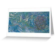 Sailing Yarn Greeting Card