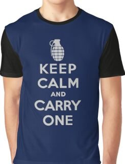 Keep Calm and Carry One Graphic T-Shirt
