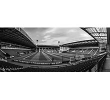 West Bromwich Albion F.C Panorama Black & White Photographic Print