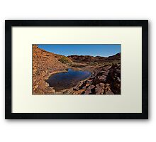 Reflections of the Lost City Framed Print