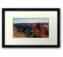 Kings Canyon rim walk Framed Print
